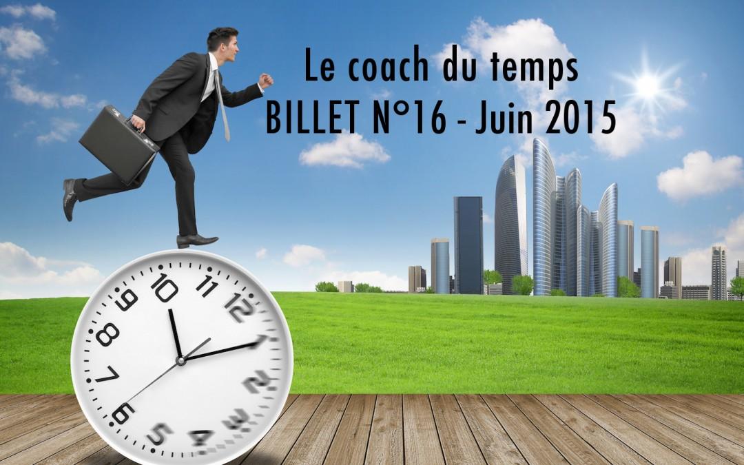 BILLET N°16 – Juin 2015